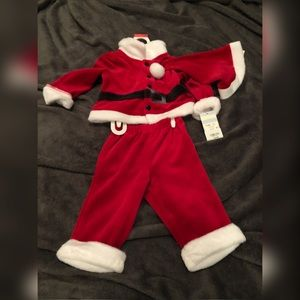 NWT Santa Outfit  3 to 6 mos - 3 piece